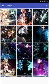 wallpaper android sao kirito x asuna sao art wallpaper for android apk download