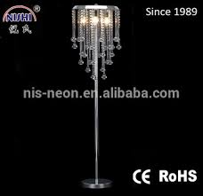 Freedom Floor Lamps Modern Crystal Chandelier Freedom Glass Beads Decorative Floor