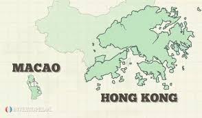 Map Of China And Hong Kong by Hong Kong Vs China Understand The Differences Investopedia