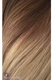 Brown Hair Extensions by Mocha Toffee Ombre Regular Seamless 18