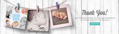 baby thank you cards baby cards ireland personalised baby cards sleepymoon cards