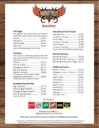 The 25 Best Breakfast Bar Menu U2013 Showtown Bar U0026 Grill