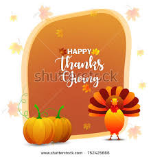 happy thanksgiving day elements set pumpkin stock vector 342357467