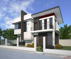 modern minimalist house mind blowing double storey family house design architecture and
