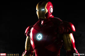 Iron Man Home Sideshow Collectibles Iron Man Mark 3 Life Size Figure Pre Orders
