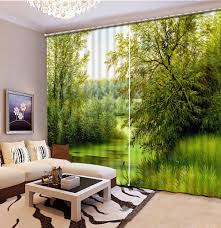 high quality wholesale curtain designs from china curtain designs custom 3d cortinas oil painting jungl designer cafe curtains tende per soggiorno 3d stereoscopic living room