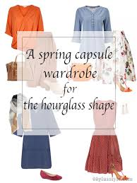 over 40 work clothing capsule spring capsule wardrobe for the hourglass body shape