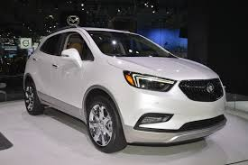 buick encore silver 2017 buick encore flaunts its more mature looks on ny show s catwalk