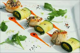 assiette de cuisine petit de gourmandises à déguster dans visions gourmandes