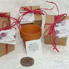 wedding guest gifts wedding favors plant a memory favors gifts