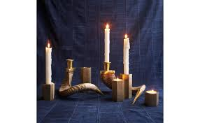 hex candle holders jayson home