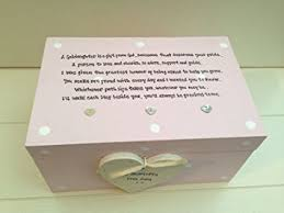 baptism jewelry box handpainted shabby chic style personalised special christening god
