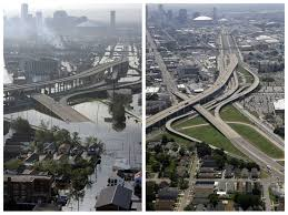 these before and after photos of hurricane katrina u0027s mammoth trail