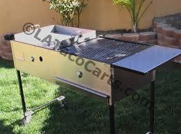 41 gas grill w griddle u0026 prep table l a taco carts