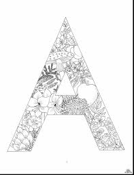 extraordinary letter design alphabet coloring pages with letter