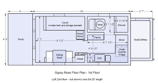 tiny homes floor plans tiny houses on wheels floor plans inspirational ynez house 2 unique