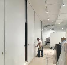 industrial room dividers sliding doors room dividers oak veneer room dividers with