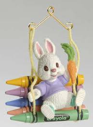 easter ornaments hallmark 1994 hallmark easter ornaments at replacements ltd