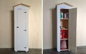 armadi in legno per esterni armadio in legno da esterno cod 01 amico legno shop