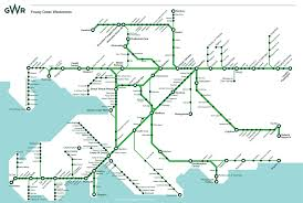 Network Map Route Map Gwr