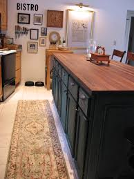 Cheap Kitchen Island by Diy Kitchen Island Made From Stock Cabinets For The Home