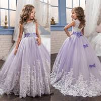 cheap lilac kids pageant dress free shipping lilac kids pageant