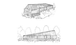 black barn is a self sustaining off grid version of historical