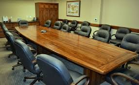 Black Boardroom Table Custom Solid Wood Conference Tables Conference Table Specialty