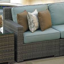 Wicker Sectional Patio Furniture by Malibu Deep Seating Sectional Decking Furniture Decor And