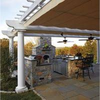 outdoor kitchen backsplash ideas outdoor kitchen design and decorating ideas light grey