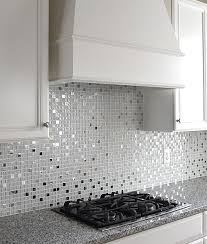 metallic kitchen backsplash kitchen backsplash metal interior design