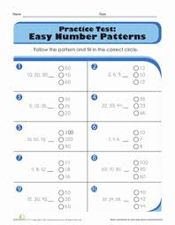pattern worksheets pattern worksheets grade 5 free printable