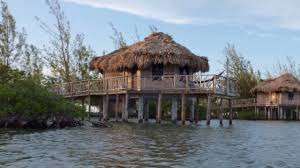 thatch caye private island resort in belize youtube