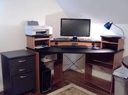 office desk black desk with drawers wood office desk computer