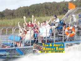 fan boat tours florida airboat rides alligator tours picture of tom and jerry s airboat