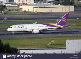 Flag Carrier Of Japan Thai Airways Flying Stock Photos U0026 Thai Airways Flying Stock