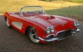 1962 corvette pics 1962 chevrolet corvette convertible resto mod 66207