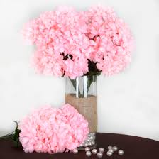 4 bushes 56 large chrysanthemum mums balls silk wedding flowers