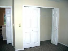 Closet Door Opening Size Closet Door Options Door Options For Reach In Closets Are As
