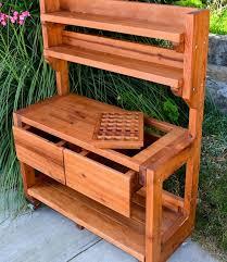 Cool Garden Bench 25 Beautiful Potting Bench Design Ideas Creating Convenient 16