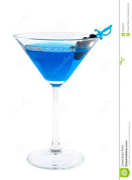 blue martini stock image image of cocktail glass photography