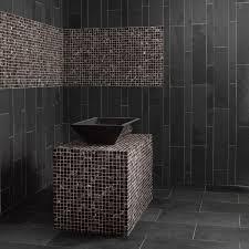 carrelage noir brillant salle de bain indogate com mosaique salle de bain blanche