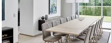 Extra Long Dining Tables Extra Large Modern Tables In Solid Wood - Long dining room table