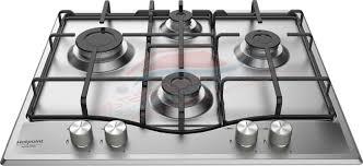ariston piani cottura hotpoint ariston piano cottura a gas da 60 cm inox griglie