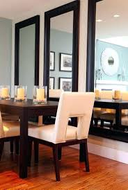 gorgeous decorating with architectural mirrors dining room wall