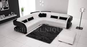 canapé d angle 7 places pas cher canapé d angle en cuir italien design et pas cher modèle cardinal 2