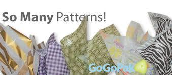 patterned tissue paper wholesale bulk designs dots stripes