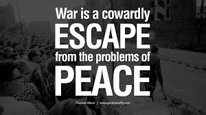 10 quotes about war on world peace violence
