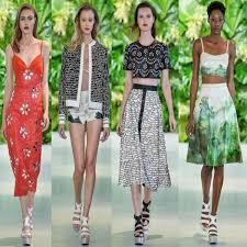 Tendência da moda verão 2016