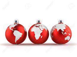 world globe ornaments rainforest islands ferry